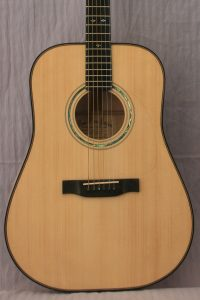 Guitar #J-39 with Red Spruce & Sugar Maple